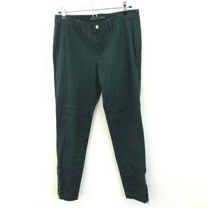 Michael Kors Ankle Zip Skinny Chino Pants 6